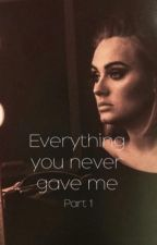 Everything you never gave me by prettyquotes