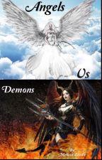Angels vs demons  by MelissaWardle