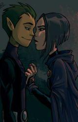 Keep me Safe. (Raven & Beast Boy -Teen Titans) by TheTasteOfTheChase