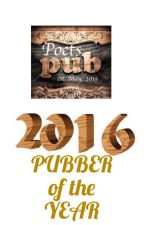 Pubber of the Year ... 2016 by PoetsPub