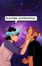 Another Notification (Klance) by p0rkcrackling