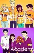Half-Blood High and Jupiter Academy (HOLD) by in_demigods_wetrust