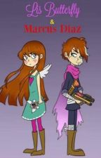 Lis Butterfly y Marcus Diaz  by KanonZanae