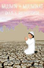 MUUMIN & MUUMINAT DAILY REMINDER by ilyar_blessed