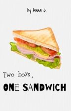 Two Boys, One Sandwich by storiesofanna