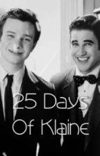 25 Days Of Klaine by Klainesings
