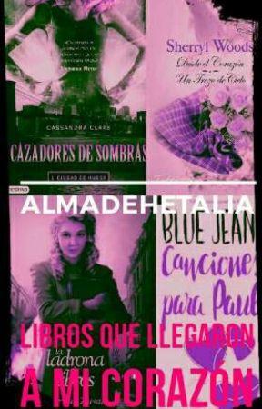 Los Libros De Mi Corazón. by almadehetalia