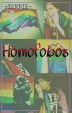 Homófobos. |  Rubelangel.  by -YENNIE-
