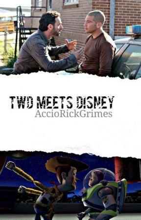 TWD meets Disney  by AccioRickGrimes