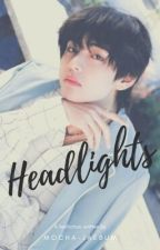 Headlights.//Taekook. by Mocha-jaebum