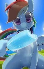 Rainbow Dash x Fem!Outcast!Reader by MephilesLOVER123