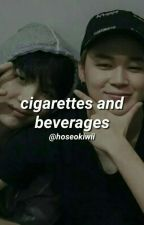 cigarettes and beverages. [yoonmim] by hoseokiwii