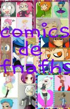 comics y memes de fnafhs  by -LovesToyChicaF-