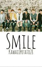 Smile   ( Bts x Depressed reader ) by Kawaiipotato28