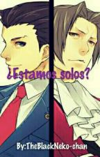 ~¿Estamos solos? ~ Yaoi ~ Phoenix Wright x Miles Edgeworth ~ by TheBlackNeko-chan