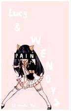 Lucy and Wendy's pain by Lil_Mochi_Yui