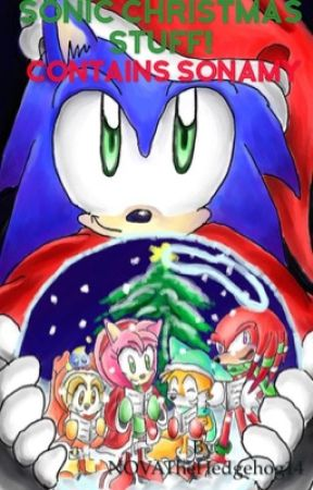 Sonic Christmas Stuff! *Contains SonAmy*