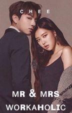 Mr & Mrs Workaholic   •BTS Jungkook  and Blackpink Rosè• by ItsCheeXO