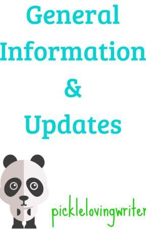 Info & Updates! by picklelovingwriter