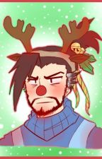 Hanzo Shimada x reader | Christmas by mlmakira