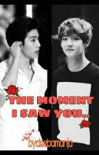 THE MOMENT I SAW YOU.. (Mark/Taehyung) by deebamanja