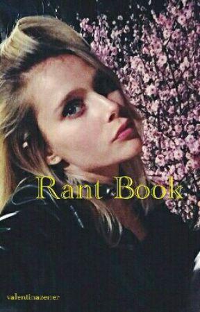 Rant book by valentinazener