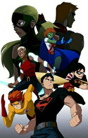 The new Young Justice League  by dragonheart216