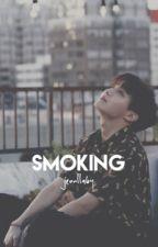 smoking ; jhs by jeonllaby