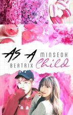 (Hiatus) as a child; Kim Minseok by babybea_AK47