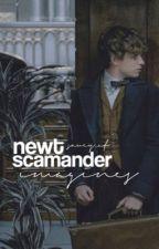 Newt Scamander Imagines by saucy_af