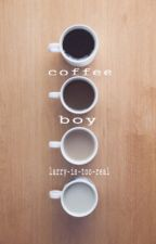 coffee boy - l.s by larry-is-too-real