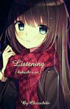 Listening  by Chocochibi