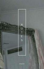 NOTES。YOONMIN by strinjimin