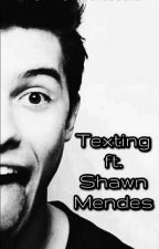 Texting ft. Shawn Mendes by -LarissaJansen-