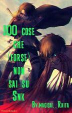 100 cose che (forse) non sai su Snk by magical_Raita
