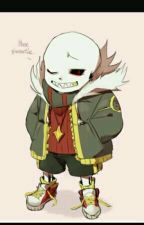 Flower you today, sweetheart?  (A flowerfell Sans x Reader) by TheAwsome4