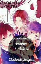 (OLD) Our Favorite brother (Male oc x Diabolik Lovers) by Arvviie