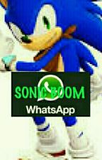 WhatsApp Sonic Boom  by MaddieTheHedgehog234