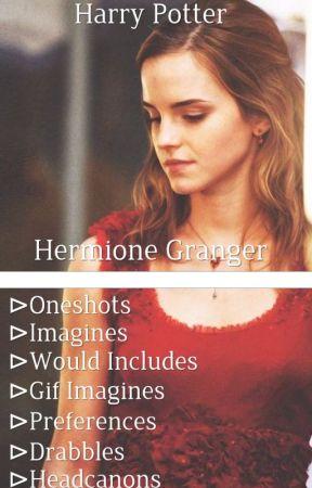 ┌Harry Potter: Hermione Granger x Fem!Reader┐ by Characterxfemreader