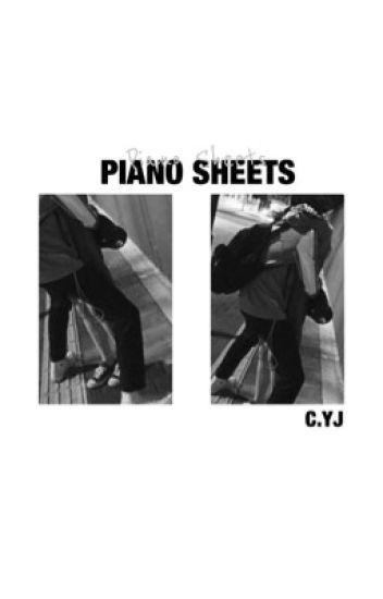 piano sheets | choi youngjae