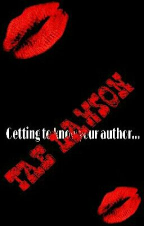 Getting to know your author... by I_Am_Undeniable