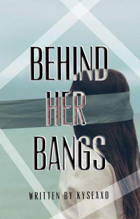 Behind her bangs by Kyseaxd