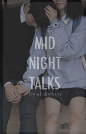 midnight talks → wonwoo by -dokyeom
