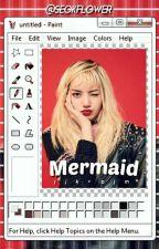 mermaid ☔ kook+min by whyuju