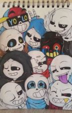 Ask and dare the sans aus by UnderswapSans02
