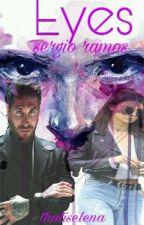 eyes||Sergio Ramos by Elenaozil