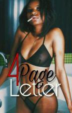 4 Page Letter | August Alsina | by orueche