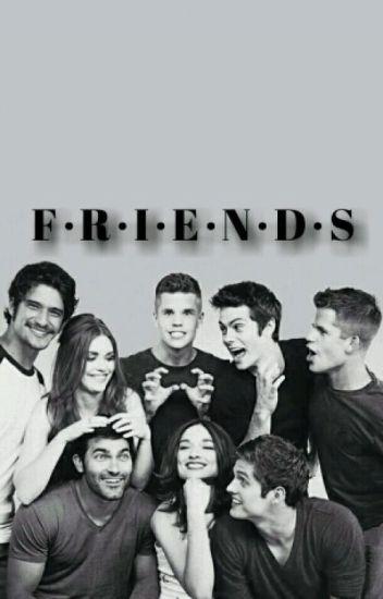 FRIENDS → teen wolf au