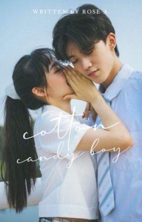 Cotton Candy Boy  ✓  (editing) by azurenights
