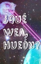 ¿Qué wea, hueón? by CalliopeIphegenia